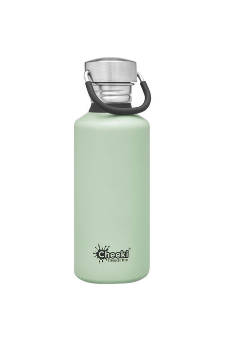 CHEEKI Stainless Steel Bottle 500ml Pistachio