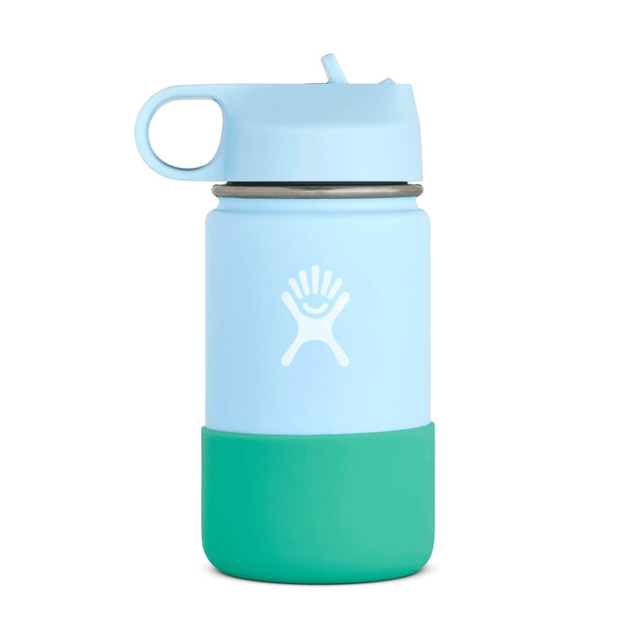 Hydro Flask Wide Mouth Kids Bottle - Straw Lid Double Insulated - 354ml