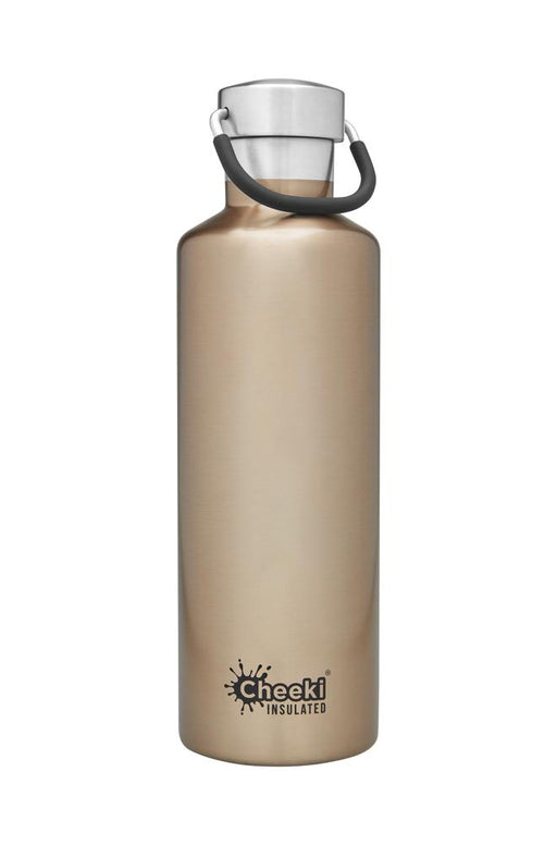 CHEEKI Stainless Steel Bottle Insulated - 600ml Champagne