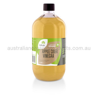 Lotus Apple Cider Vinegar Organic 1L