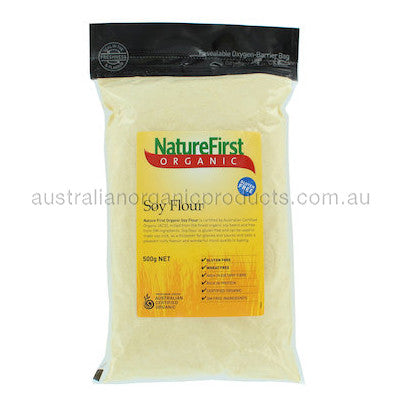 Nature First Soy Flour Organic 500g