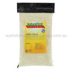Nature First Millet Meal Organic 500g