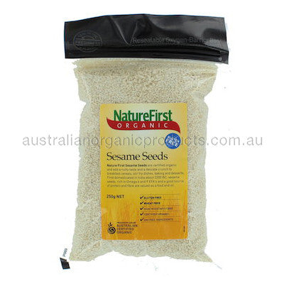 Nature First Sesame Seeds Organic 250g