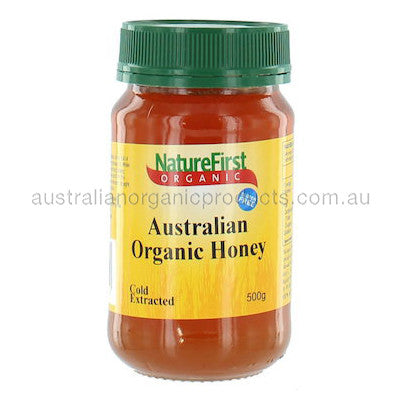 Nature First Honey Australian Organic 500g