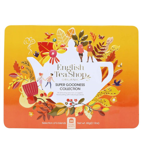 English Tea Shop Orange Gift Pack - Super Goodness Collection