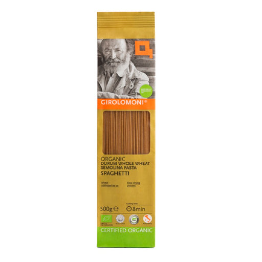 Girolomoni Organic Whole Durum Wheat Semolina Spaghetti