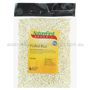 Nature First Rice Puffed Organic 175g