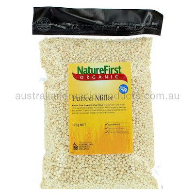 Nature First Millet Puffed Organic 175g