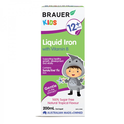 Brauer Kids Iron with Vitamin B Liquid
