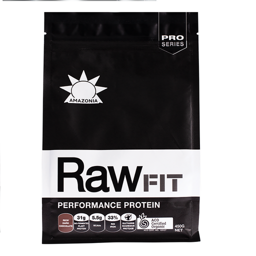 Amazonia - Rawfit Performance Protein Rich Dark Chocolate  450g