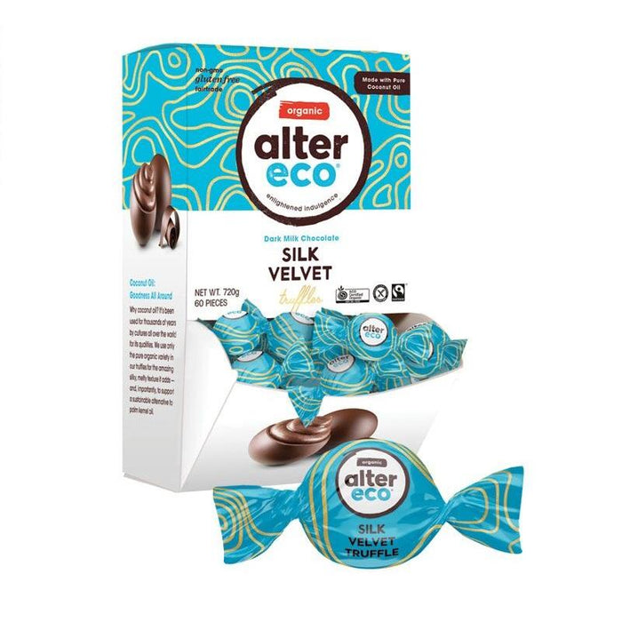 ALTER ECO Organic Velvet Truffles w Dark Milk Chocolate