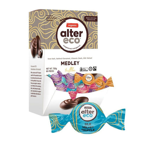 ALTER ECO Chocolate Assorted Organic Medley Truffles