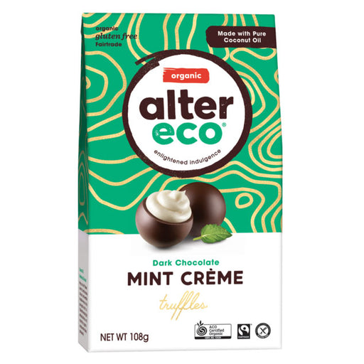 ALTER ECO Chocolate (Organic) Mint Truffles 108g