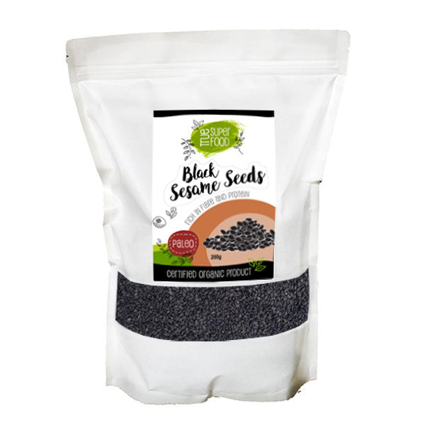 AOP Certified Organic Black Sesame Seeds
