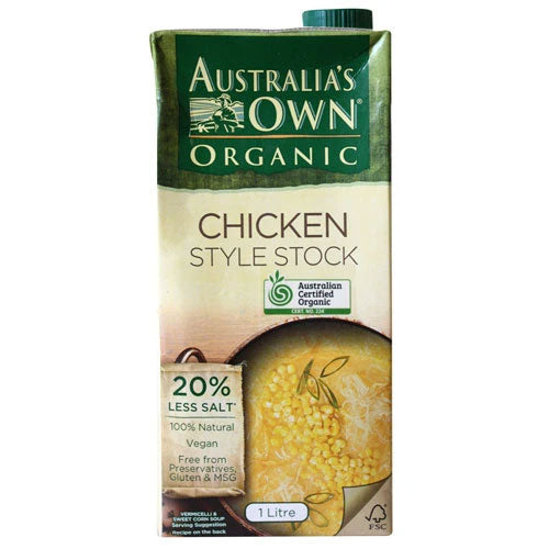 AUSTRALIA'S OWN Liquid Stock Chicken Style - Old Packaging