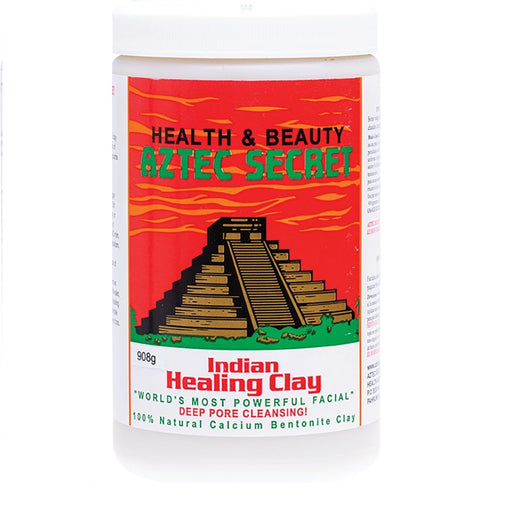 Aztec Secret - 100% Natural Calcium Bentonite Clay - Facial Clay 908g