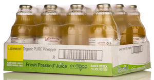 LAKEWOOD Organic Pineapple Juice Cold Pressed 946mL