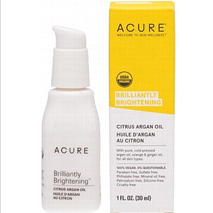 ACURE Citrus Argan Oil Brilliantly Brightening 30ml