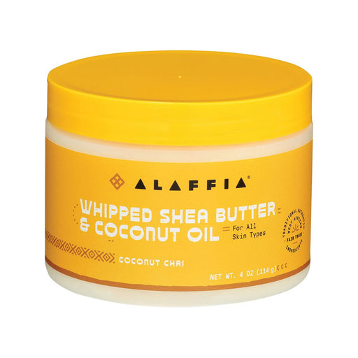 Alaffia Chai Whipped Shea Butter & Coconut Oil