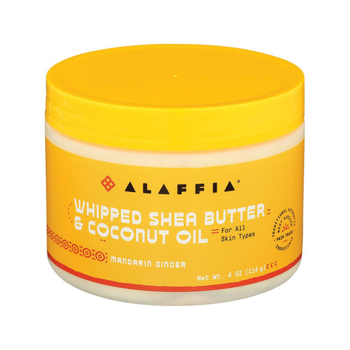 Alaffia Mandarin Whipped Shea Butter & Coconut Oil