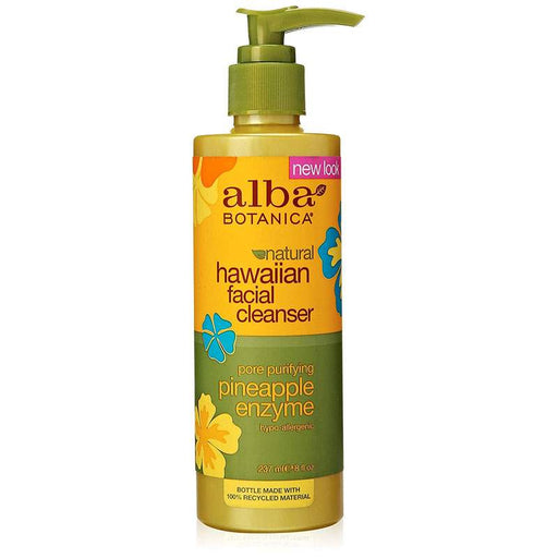 Alba Hawaiian Organic Facial Cleanser Pineapple Enzyme 235ml