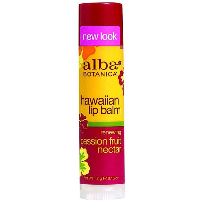Alba Hawaiian Organic Lip Balm Passion Fruit 4.2g