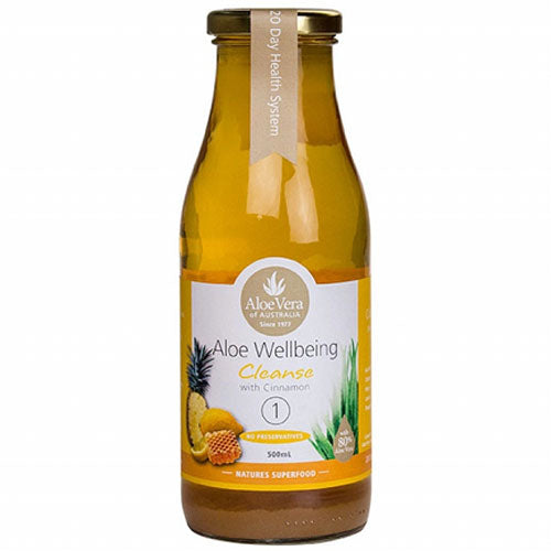 ALOE VERA OF AUSTRALIA Aloe Wellbeing Cleanse Juice 500ml