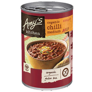 AMYS KITCHEN Organic Chilli Medium Beans 416g