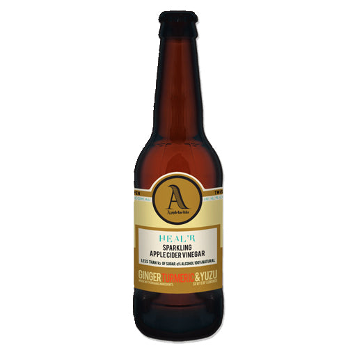 APPLELACHIA Sparkling Apple Cider Vinegar Ginger, Turmeric & Yuzu 330ml
