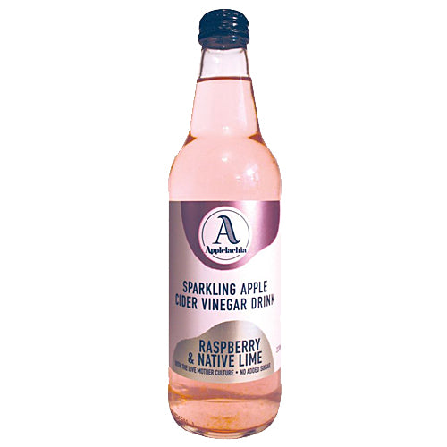 APPLELACHIA Sparkling Apple Cider Vinegar Raspberry & Native Lime 330ml
