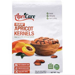 APRICARE Apricot Kernels Raw 1kg