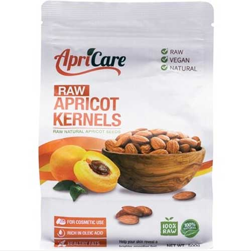 APRICARE Apricot Kernels Raw 500g