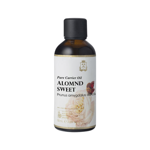 Ausganica 100% Certified Organic Almond Sweet Pure Carrier Oil
