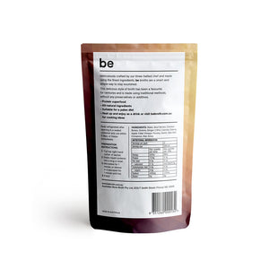 BE BROTH Beef Broth infused with Ginger 250ml x5 BULK