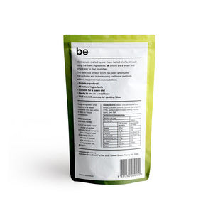 BE BROTH Chicken Broth infused with Lemongrass 250ml x5 BULK
