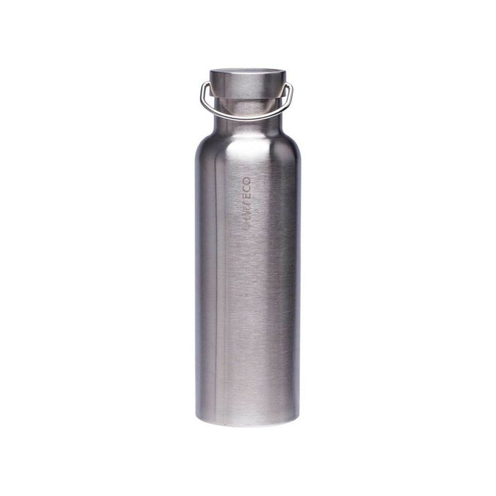 EVER ECO Insulated Stainless Steel Bottle - Brushed Steel
