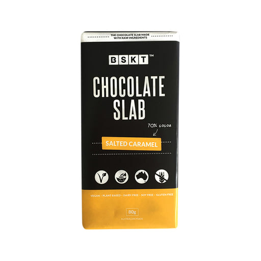 BSKT Vegan Chocolate Slab Salted Caramel