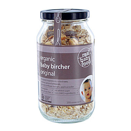Real Good Food Organic Bircher Baby Muesli 250g