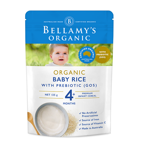 Bellamys Organic Baby Rice Cereal