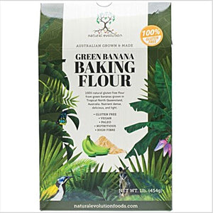 NATURAL EVOLUTION Gluten Free Banana Baking Flour From Cavendish Bananas 500g