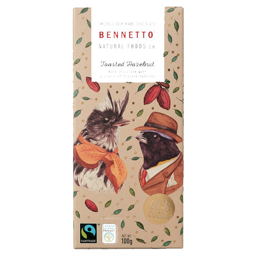 Bennetto Toasted Hazelnut 100g