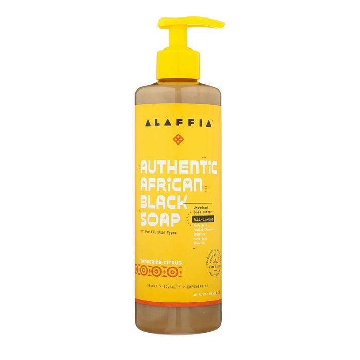 ALAFFIA African Black Soap Tangerine-Citrus 476ml