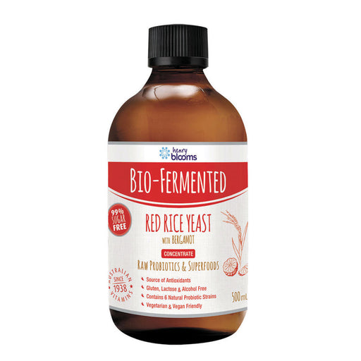 Blooms Bio-Fermented Red Rice Yeast with Bergamot Concentrate