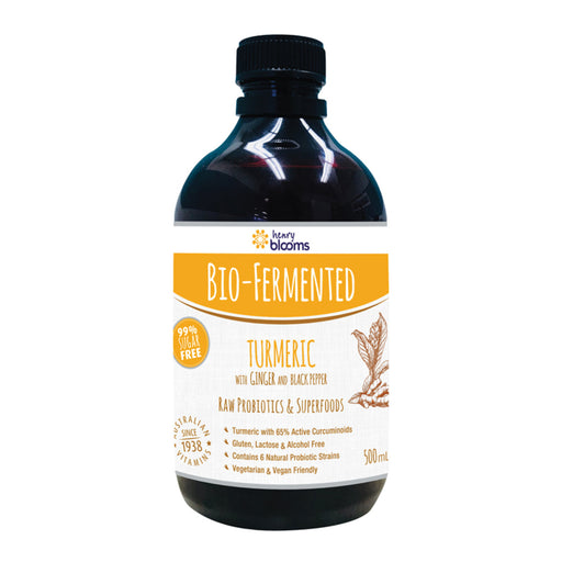 Blooms Bio-Fermented Turmeric with Ginger and Black Pepper 500ml