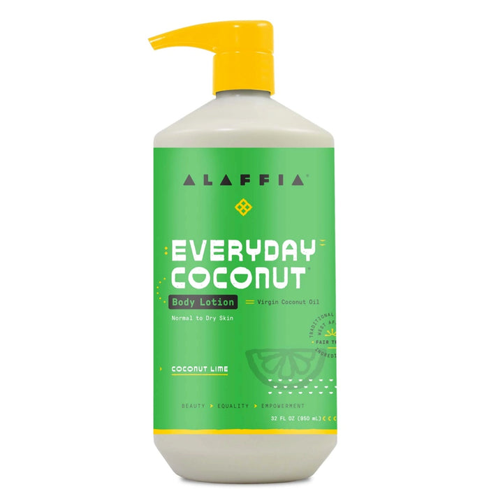 ALAFFIA Everyday Coconut Body Lotion Coconut Lime 950ml