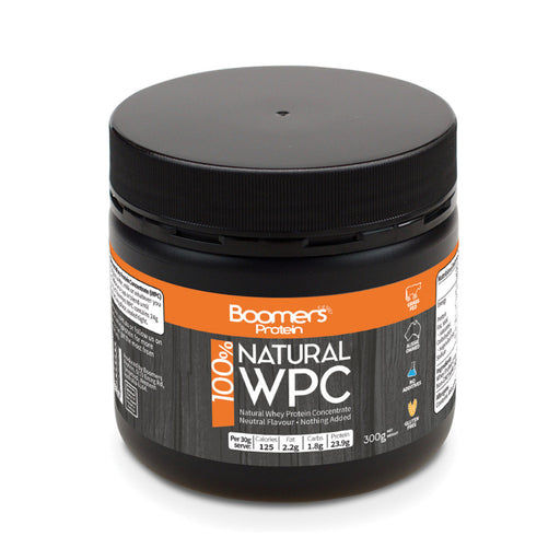 Boomers 100% Whey Protein Concentrate 300g