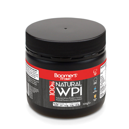 Boomers 100% Whey Protein Isolate 300g