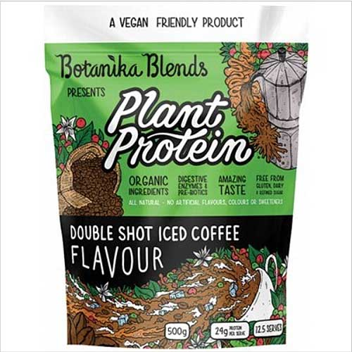 BOTANIKA BLENDS Plant Protein Double Shot Iced Coffee 500g