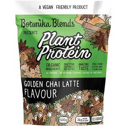 BOTANIKA BLENDS Plant Protein Golden Chai Latte 500g