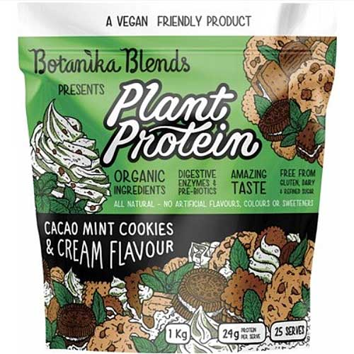 BOTANIKA BLENDS Plant Protein Cacao Mint Cookies & Cream 1kg